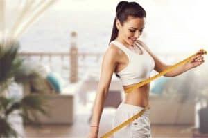 sportlich-schlanke Frau